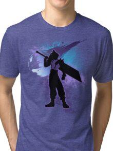 Super Smash Bros. Cloud Silhouette Tri-blend T-Shirt