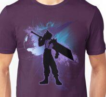 Super Smash Bros. Cloud Silhouette Unisex T-Shirt