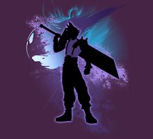 Super Smash Bros. Cloud Silhouette Unisex T-Shirt