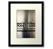 Metal On Metal Framed Print