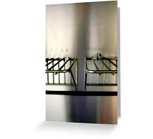 Metal On Metal Greeting Card