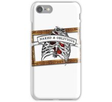 Naked & Oblivious iPhone Case/Skin