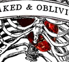 Naked & Oblivious Sticker