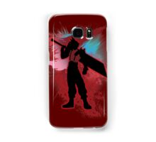Super Smash Bros. Red Cloud Silhouette Samsung Galaxy Case/Skin