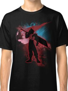Super Smash Bros. Red Cloud Silhouette Classic T-Shirt