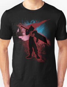 Super Smash Bros. Red Cloud Silhouette T-Shirt