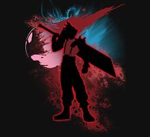 Super Smash Bros. Red Cloud Silhouette Unisex T-Shirt