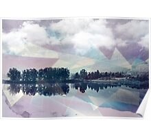 Abstract Mirror Poster