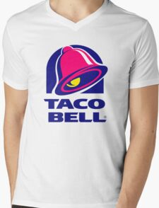 Taco Bell Mens V-Neck T-Shirt