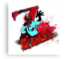 zombie special games Canvas Print