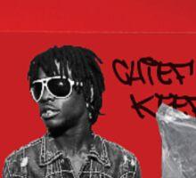 chief keef x mcglo Sticker