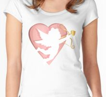 cupid - love Women's Fitted Scoop T-Shirt