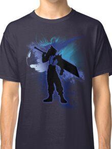 Super Smash Bros. Blue Cloud Silhouette Classic T-Shirt