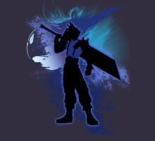 Super Smash Bros. Blue Cloud Silhouette Unisex T-Shirt