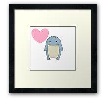quaggan love Framed Print