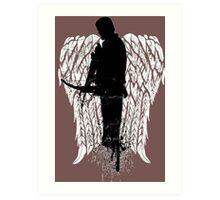 Dixon The Walking Dead - Love Daryl Dixon  Art Print