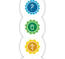 The 7 Chakras Sticker