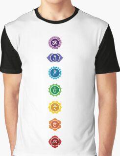 The 7 Chakras Graphic T-Shirt