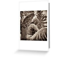 great archangel gabriel contemplates Greeting Card