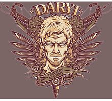 Daryl Dixon The Walking Dead Photographic Print