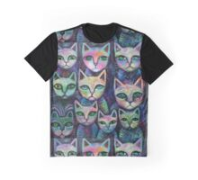 10 Alley cats Graphic T-Shirt