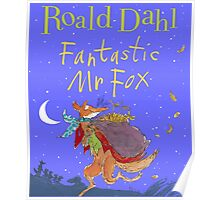 Fantastic Mr. Fox Book Cover Poster