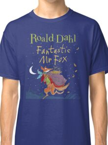 Fantastic Mr. Fox Book Cover Classic T-Shirt