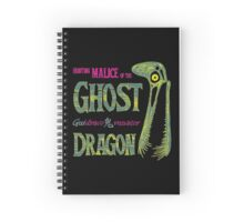 Hunting Malice of the Ghost Dragon Spiral Notebook