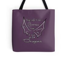 Rescue you from dragons Tote Bag