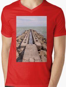 sea and beach Mens V-Neck T-Shirt