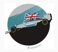 Lewis Hamilton Mercedes F1 World Champion One Piece - Short Sleeve