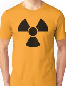 Radioactive Sign 2 Unisex T-Shirt