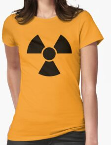 Radioactive Sign 2 Womens Fitted T-Shirt