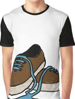 Leaking Shoe Graphic T-Shirt