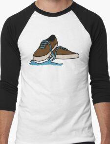 Leaking Shoe Men's Baseball ¾ T-Shirt