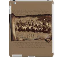 Vintage RF 1978 Penola Pony Club members iPad Case/Skin