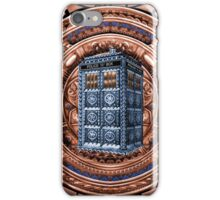 Aztec Time Travel Box full color Pencils sketch Art iPhone Case/Skin