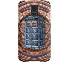 Aztec Time Travel Box full color Pencils sketch Art Samsung Galaxy Case/Skin