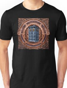 Aztec Time Travel Box full color Pencils sketch Art Unisex T-Shirt