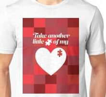 Piece of my heart Unisex T-Shirt