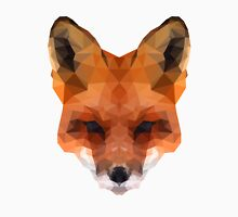 Low Poly Fox Head Unisex T-Shirt