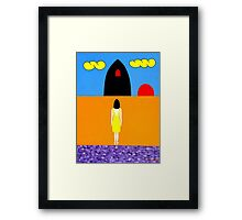 TUNNEL OF LOVE Framed Print