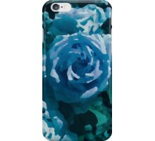 Blue Rose Painting iPhone Case/Skin