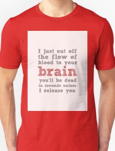 Xena Typography Unisex T-Shirt