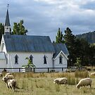 Church of the Good Shepherd, Tinui, N.Z. by Mike Warman