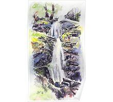 Canonteign Falls, Dartmoor Poster