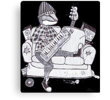 Lizard Lounge Canvas Print