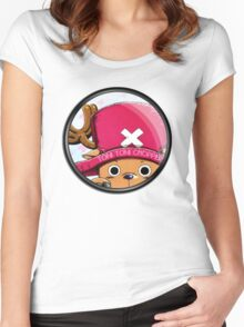 circle chopper Women's Fitted Scoop T-Shirt