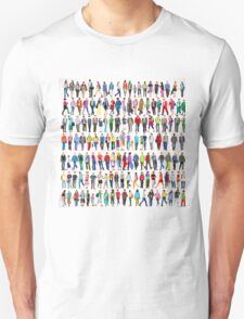 Walking People Unisex T-Shirt