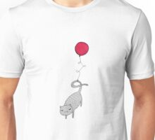 Balloon Cat Unisex T-Shirt